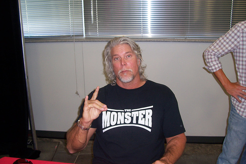 Make the check to Kevin Nash.