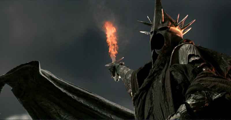 HHH would be mucher cooler if he spit his water bottle onto the Witch King