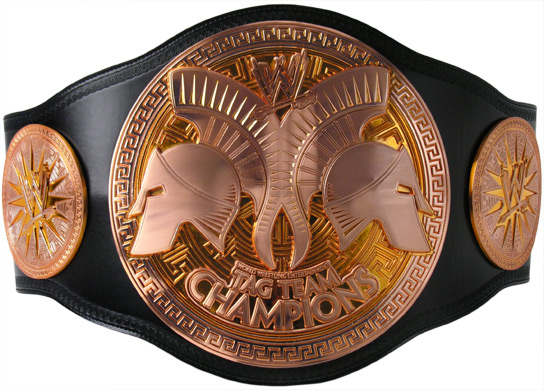 The New WWE Tag Team Title Belts