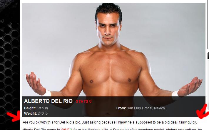 WWE.com Fail