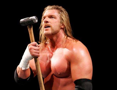Triple H Gets Office Gig