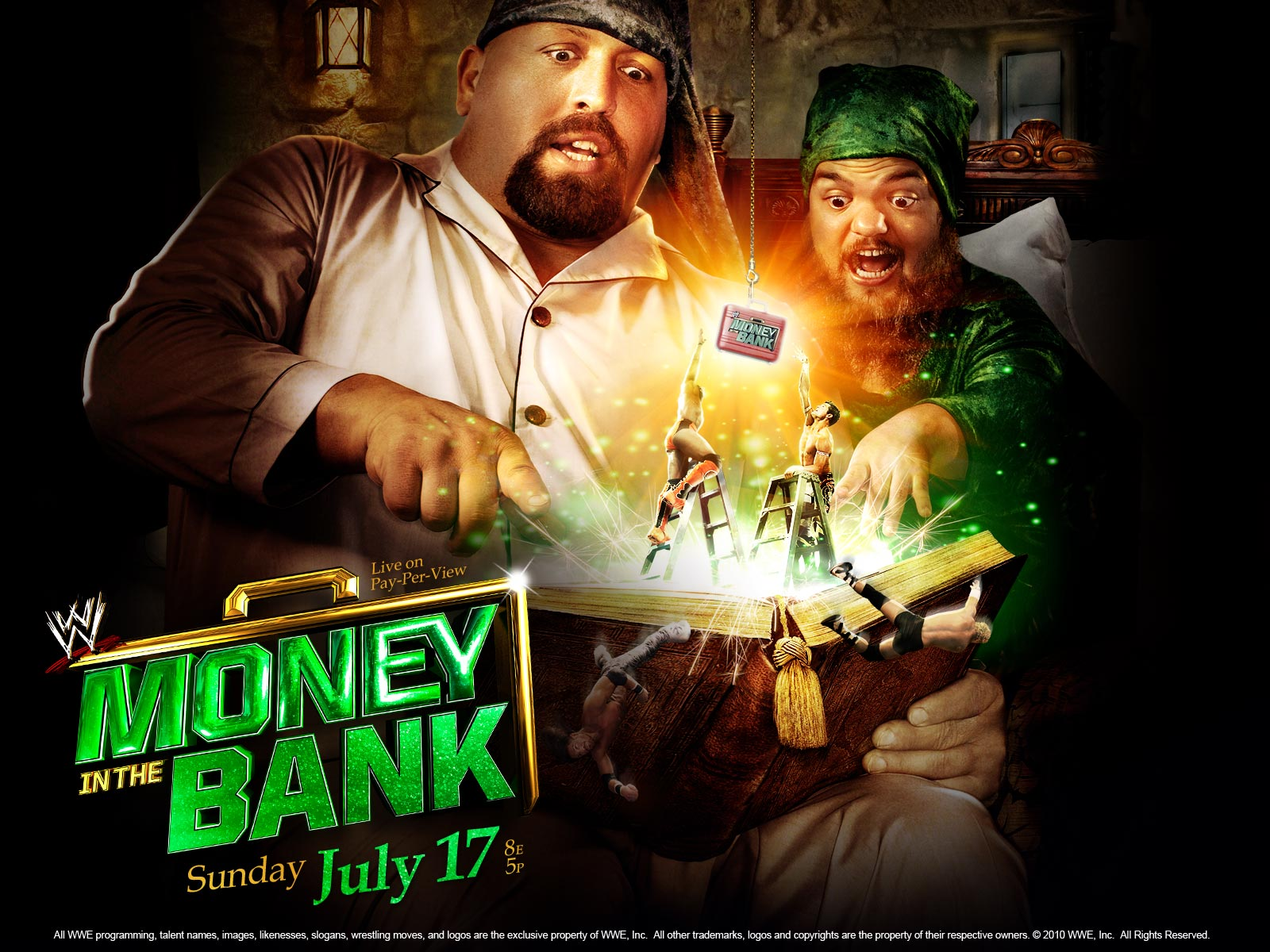 Stunt Granny Audio Show: WWE Money In The Bank Preview