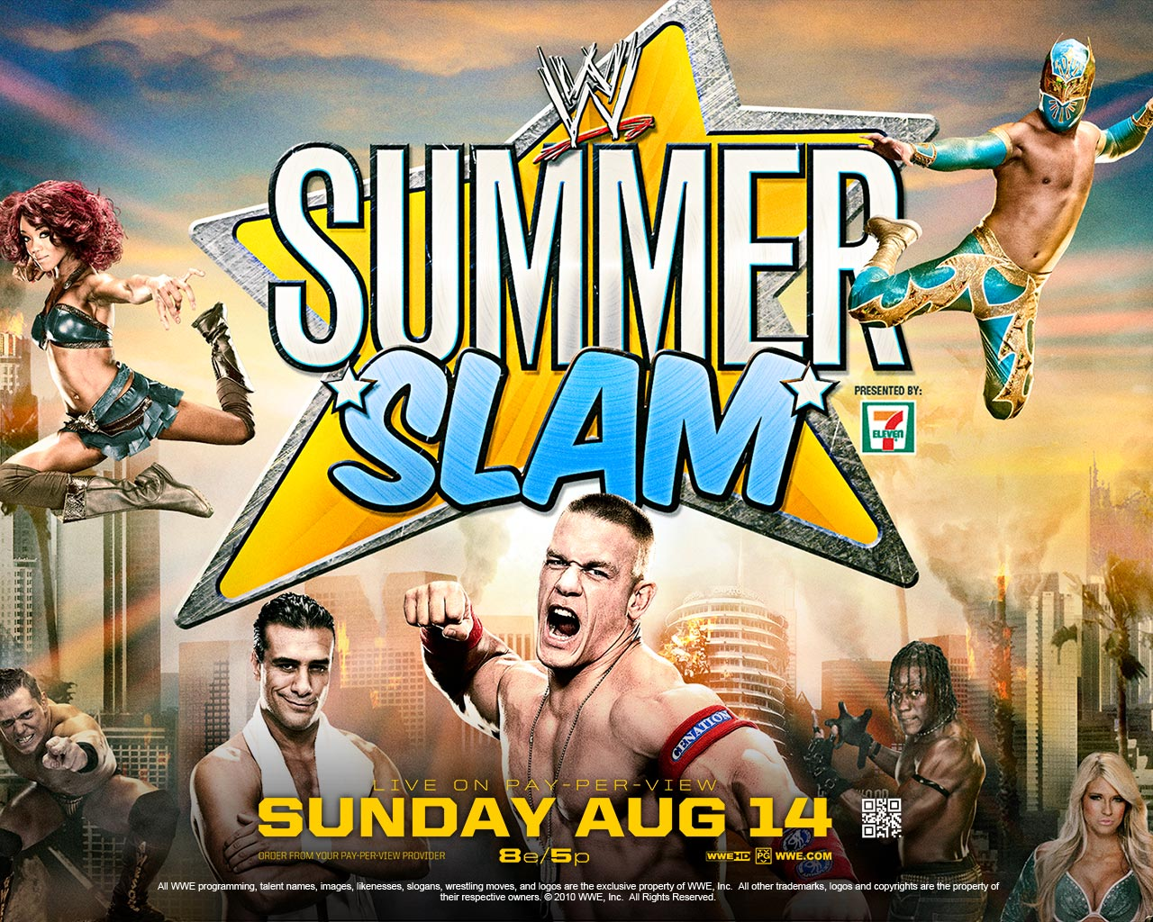 Stunt Granny Audio: Summerslam 2011 Preview