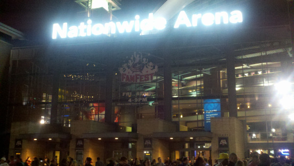 Kevin Went To WWE Raw At Nationwide Arena