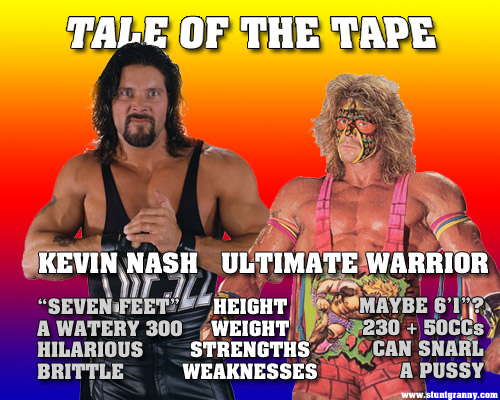 Kevin Nash challenges Ultimate Warrior to shoot fight for WrestleMania 28 weekend