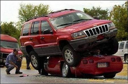 John Cena in car accident