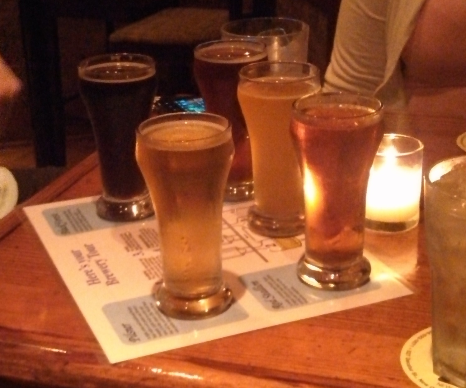 Crescent City Brewhouse Flight