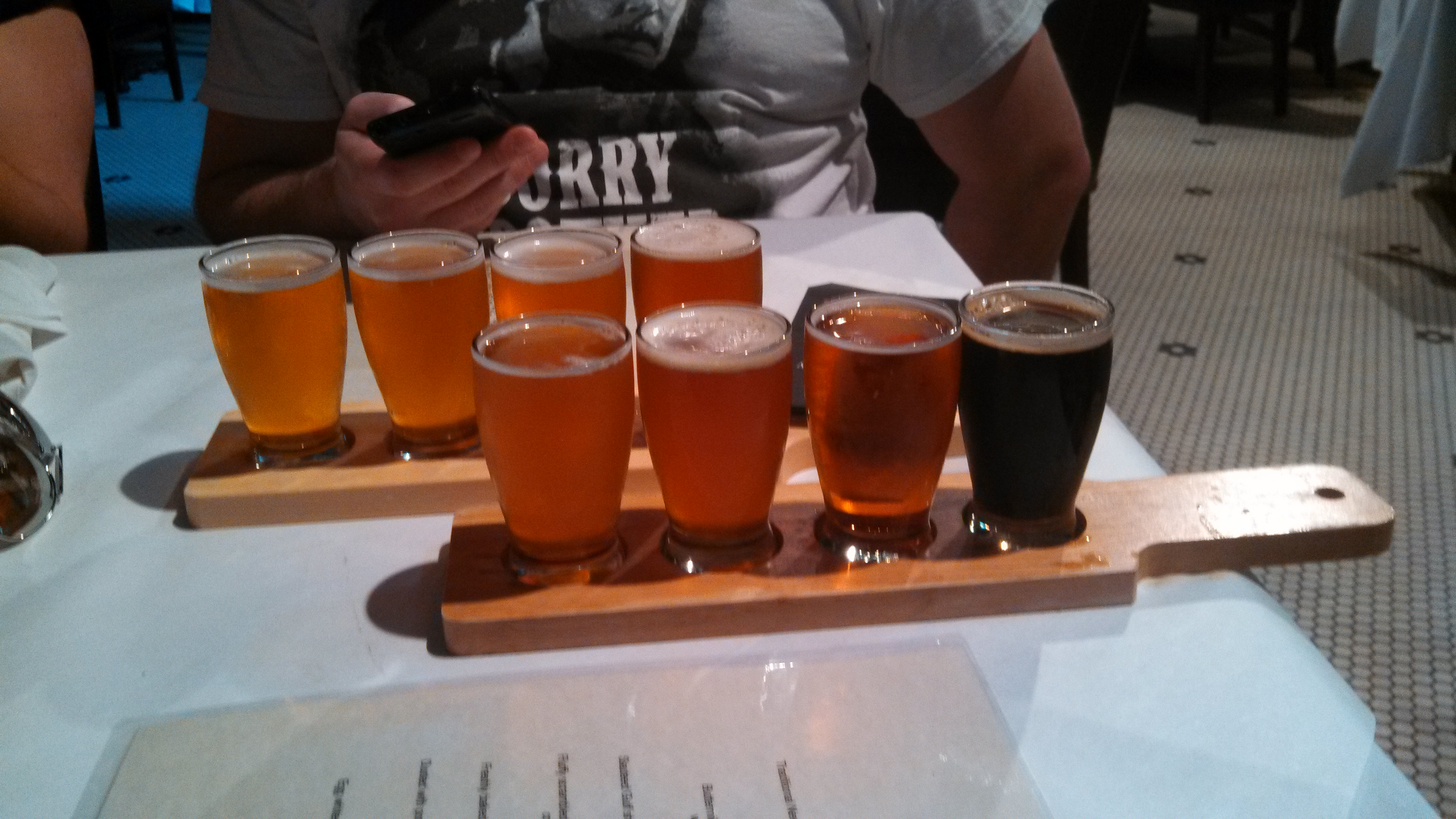 Jackson Brewery Flight