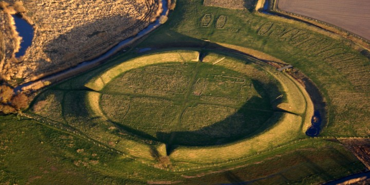 Trelleborg Viking fort on Zealand Island, Denmark. From wikipedia and also used in the article.