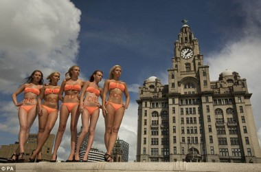 The Liver Building in Liverpool from dailymail.co.uk