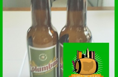 Columbus Beer Week logo supplied by Jeremy Slagle. Picture of beer bottles by yours truly.