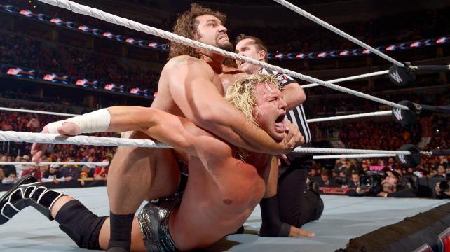 Rusev vs Ziggler Raw