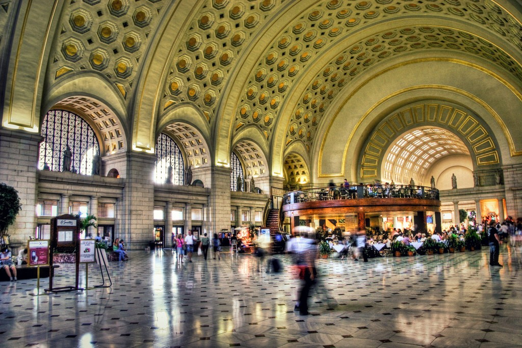 Union Station in Washington DC from skift.com