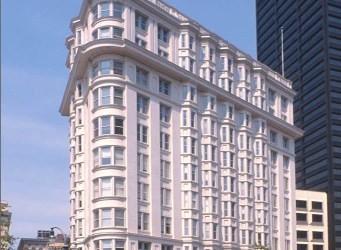 The refurbished Flatiron Building in downtown Atlanta. From atlantadowntown.com
