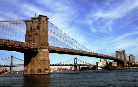 The Brooklyn Bridge from Wikimedia.org