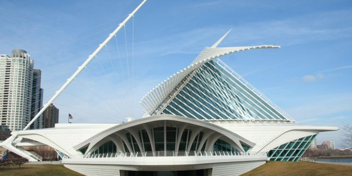 The IST Building from Florida Polytechnic designed by Santiago Calatrava. Picture from Tampabay.com