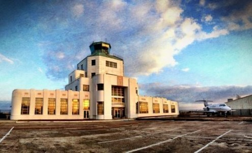 1940 Houston Municipal Airport saved from tripadvisor.com