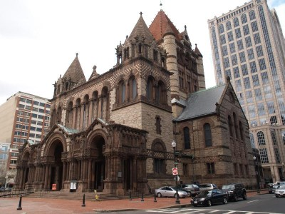 Trinity Church in Boston from foundationsofamerica.com
