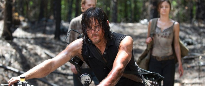 Daryl getting caught being stupid for the second time. Saved from ABCnews.go.com but surely protected by AMC.