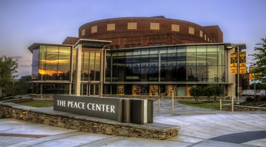 The Peace Center in Greenville SC. Saved from scartshub.com.