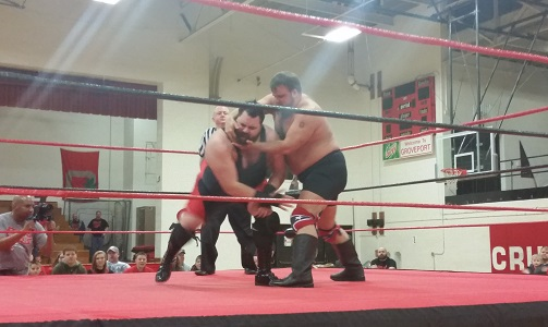 Bryan Castle (L) against Jock Samson (R) - Kevin DiFrango