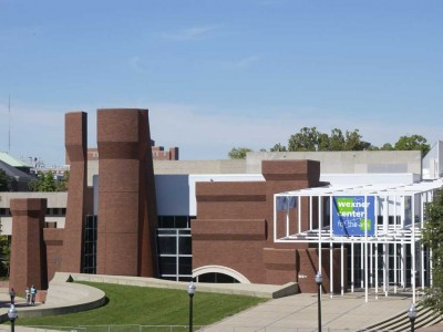 The Wexner Center For The Arts on Ohio State's Campus. It was designed by Peter Eisenman. Picture saved from academia.edu