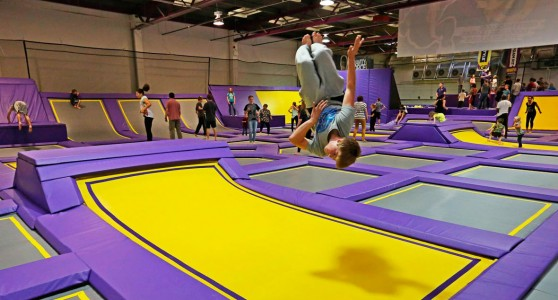 Gravity Force, England's first Ultimate Trampoline Park. Saved from gasp4.com