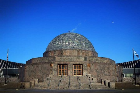The Adler Planetarium in Chicago. Saved from citypass.com