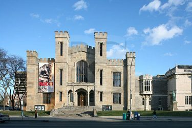 The Wadsworth Atheneum in Hartford CT. Designed by Alexander Jackson Davis & Ithiel Town. Saved from ronsaari.com