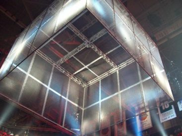 The WWE's Hell In A Cell. Saved from Wikipedia.org