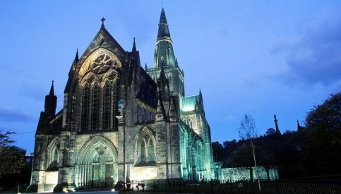 The Glasgow Cathedral in Glasgow Scotland. Saved from peoplemakeglasgow.com