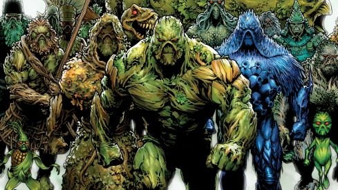 Cover of Swamp Thing 40 saved from DCComics.com. Art by Jesus Saiz.