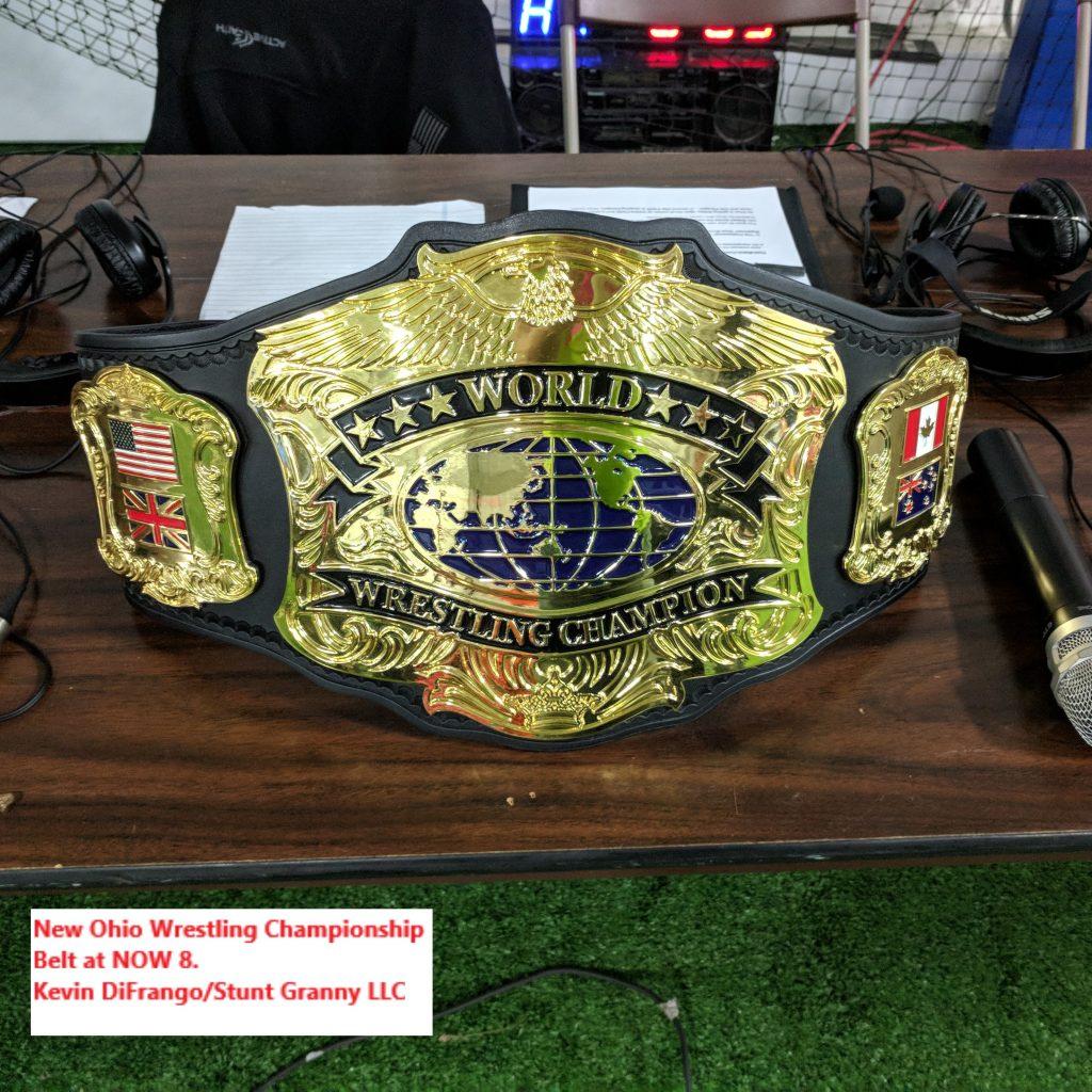 NOW 8 Championship Belt